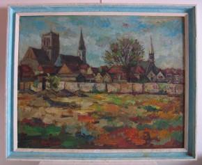 Gezicht op Brielle (Collectie Historisch Museum Den Briel; inv nr 4397)