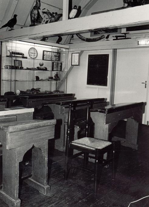 Het interieur van de Oudheidkamer
